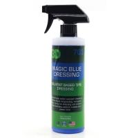 3D blue magic dressing