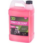 3D pink car soap - gallon