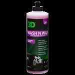 3D Wash N Wax - 500 ml.