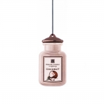 English candle hanging jar - coconut