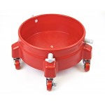 Autobrite bucket trolley red