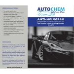 Autochem anti-hologram 1 ltr.