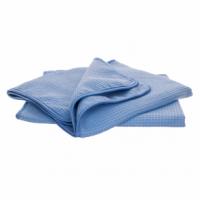 Autochem blue waffle drying towel set