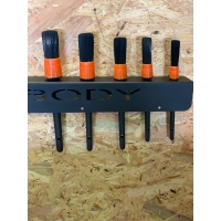 Autochem detailing brush kit