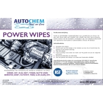 Autochem Power Wipes NSF