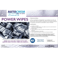Autochem Power Wipes NSF
