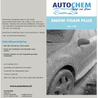 Autochem Snowfoam plus 5 ltr.