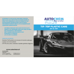 Autochem Tip-Top plastic care 500 ml.
