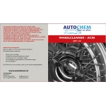 Autochem wheelcleaner acid 1 ltr.