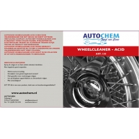 Autochem wheelcleaner acid 500 ml.