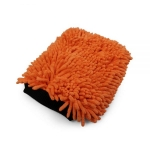 2 in 1 wiggly wash mitt orange