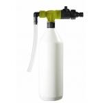 Afvulsysteem voor flessen - geel