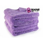 "Monster Microfiber Purple  ""3 pack"""
