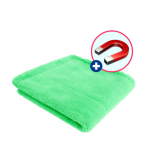 "Purestar ""magnetic"" premium green buffing towel"