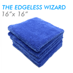 Edgeless wizard microfiber towel
