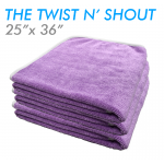 Twist n' Shout drying towel