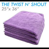 Twist n' Shout drying towel