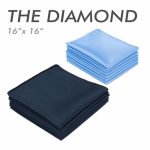 The diamond microfiber glass towel
