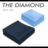 The diamond microfiber glass towel