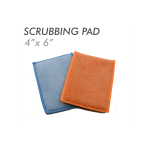 "Jersey scrubber 'bug scrubber"" pad"
