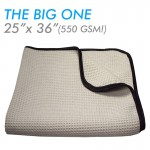 Big one waffle weave drying towel