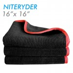 Nyteryder pluch dualpile microfiber towel