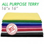 All-purpose microfiber terry-towel
